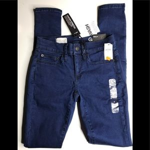 Gap 1969 Forever Stretch Legging Jean low rise S